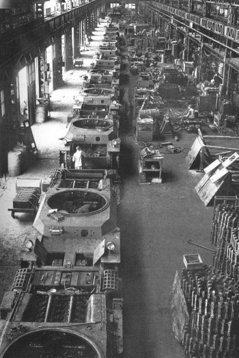 Japanese tank factory